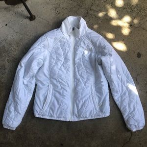 The North Face White Puffer Jacket M